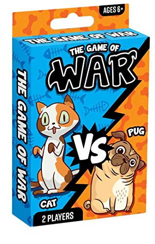 Fun a Ton War Card Game for Kids - The Game of War Kids Game Toy - Colorful Design - Great for...