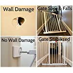 Wall-Nanny-Baby-Gate-Wall-Protector-Made-in-USA-Protect-Walls-Doorways-from-Pet-Dog-Gates-for-Child-Pressure-Mounted-Stair-Safety-Gate-No-Safety-Hazard-on-Bottom-Spindles-4-Pack