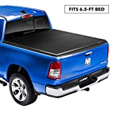 Lund Genesis Elite Tri-Fold Soft Folding Truck Bed Tonneau Cover | 958173 | Fits 2015-2019 Ford F-150 6' 5' Bed