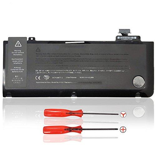 Laptop Batteria A1322 per MacBook Pro 13 Unibody A1278 (Mid 2009,inizio 2010,inizio 2011,fine 2011,metà 2012) MC375D/A MB990LL/A MB991LL/A MB990CH/A MB990J/A [10.95V 63.5Wh ]