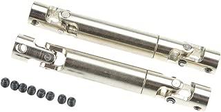 Hobbymarking RC Rock 2Pcs Universal Drive Shaft 90mm-115mm Upgrade for RC4WD Crawlers D90 SCX10 Off-Road Tamiya Car Parts