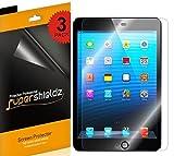 (3 Pack) Supershieldz Designed for Apple iPad Mini 3, iPad Mini 2, iPad Mini 1 Screen Protector, High Definition Clear Shield (PET)