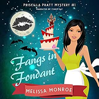 Fangs in Fondant     Priscilla Pratt Mystery, Book 1              By:                                                                                                                                 Melissa Monroe                               Narrated by:                                                                                                                                 Cindy Kay                      Length: 6 hrs and 8 mins     Not rated yet     Overall 0.0