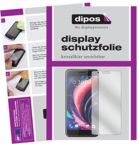 dipos I 6X Schutzfolie klar kompatibel mit HTC One X10 Folie Bildschirmschutzfolie