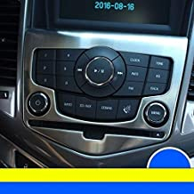 XuBa Control System Interior Promote automovil Modified car Styling Bright Sequins Trim Accessories Covers 15 for Chevrolet Cruze