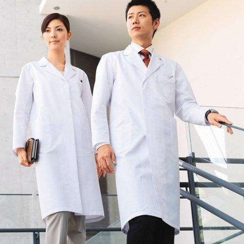 ドクターコート(白衣) レディース シングルコート ホワイト M