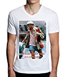 Fear and Loathing In Las Vegas No Time Design Men's V-Neck T-Shirt Small