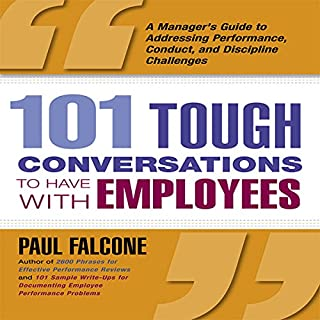 101 Tough Conversations to Have with Employees cover art
