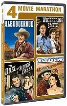 4 Movie Marathon Classic Western: Albuquerque / Whispering Smith / The Duel at Silver Creek / War Arrow