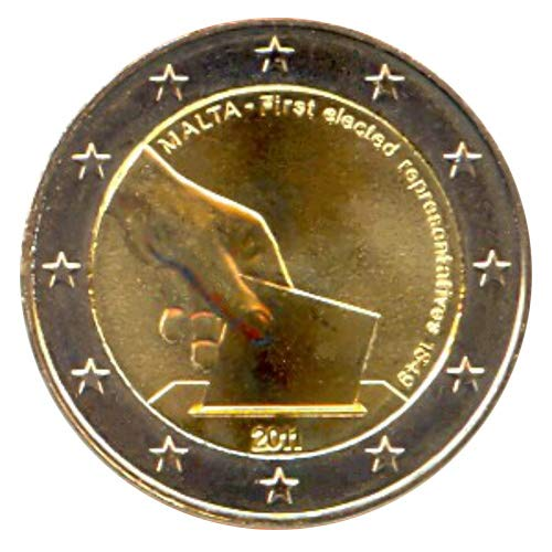 2 € Malta 2011 Storia costituzionale, Prima elezione dei rappresentanti nel 1849