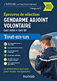 Epreuves de sélection Gendarme adjoint volontaire - 2021-2022- GAV APJA - GAV EP - GAV APJA - GAV EP (2021-2022)
