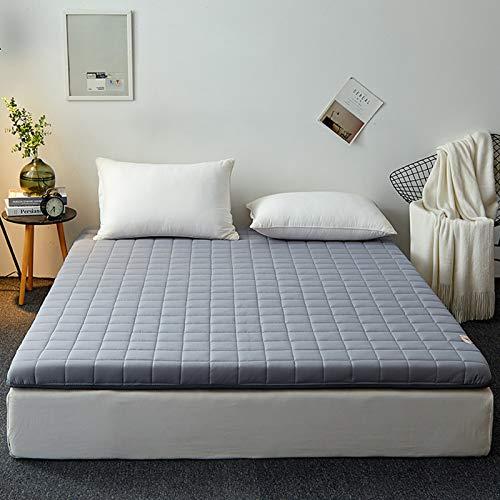 YPSM Plegable Colchon Tatami Japones para Sala De Estar Dormitorio Cama Couch Sofás Tienda,Colchón Colchón Tatami para Dormir Viaje-Gris 180×200cm(70×79inch)