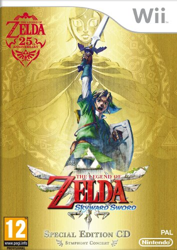 The Legend of Zelda Skyward Sword Special AT PEGI Wii