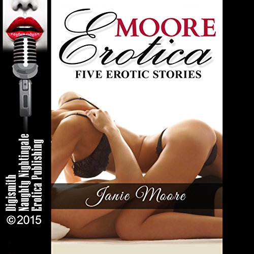 Moore Erotica audiobook cover art
