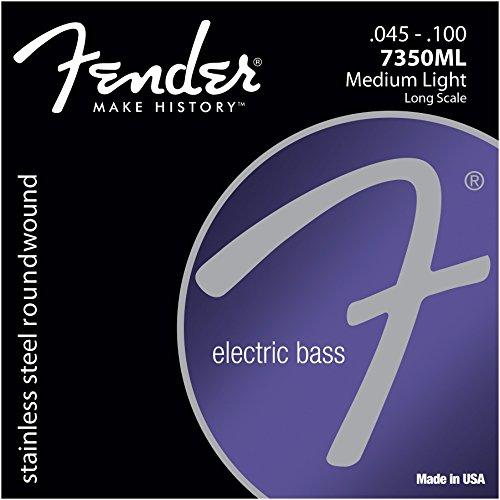 Fender Stainless Bass 7350s 7350ML 45-100