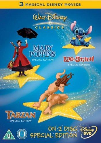 Mary Poppins/Tarzan/Lilo and Stitch [Import anglais]