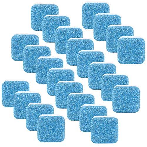 LOKESI Lavadora sólida Limpiador Lavadora Máquina Tabletas efervescentes Lavadora Limpiador Lavadora Limpia Removedor de Limpieza Profunda para baño Cocina 24 Piezas