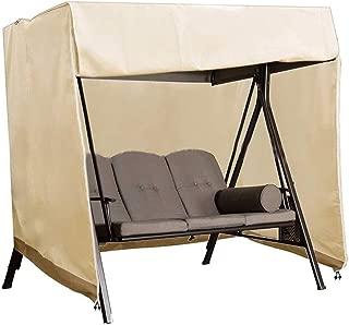 BullStar Patio Swing Chair Cover 3 Triple Seater Outdoor Hammock Cover Waterproof Windproof Furniture Protector 87