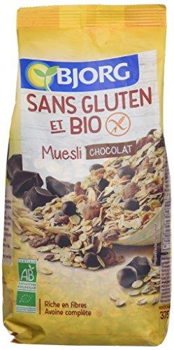 Bjorg Muesli au Chocolat sans Gluten Bio 375 g - Lot de 3