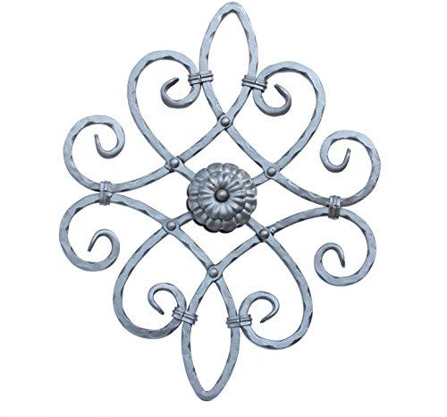 UHRIG NEU! Schmiedeeisen Ornament Gitter Fenstergitter Stahl Eisen geschmiedet #550