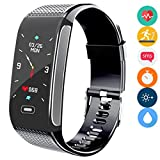Fitness Tracker, Activity Tracking Smart Bracelet with Heart Rate Sleep Monitor Pedometer Stopwatch
