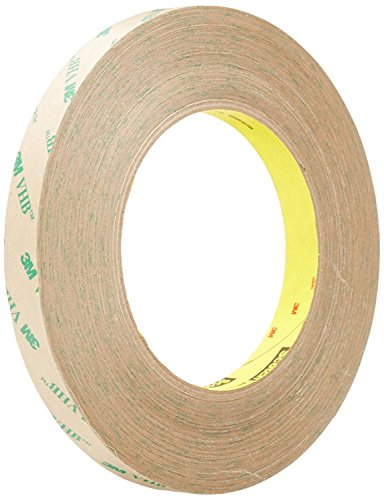 3M Adhesive Transfer Tape 9460PC, Clear, 2Mils, 1/2