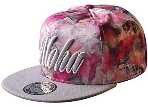 Belsen Kind Hip-Hop Schreiben Cap Baseball Kappe Hut Truckers Hat (Kind, rosa)