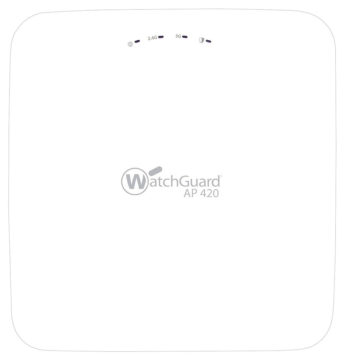 土器再開フォーマルWatchGuard AP420 - Wireless access point - with 3 years Total Wi-Fi - GigE, 802.11ac Wave 2 - Wi-Fi - Dual Band