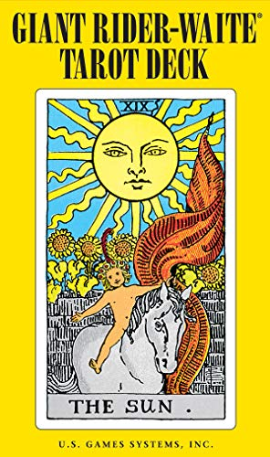 Giant Rider-Waite Tarot Deck: Complete 78-Card Deckの詳細を見る