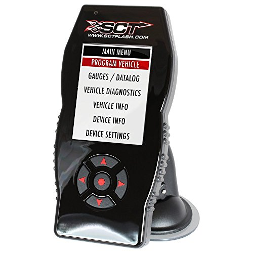 Tuner SCT X4 Power Flash Performance Programmer Compatible with Ford (7015)