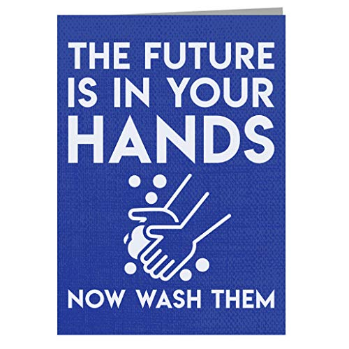 Pandemic Hygiene Funny Quote Greeting Card