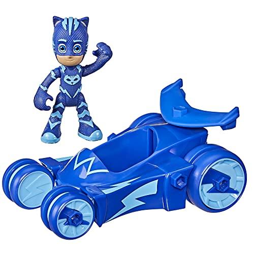 PJ Masks Cat-Car Preschool Toy, Catboy Car with...