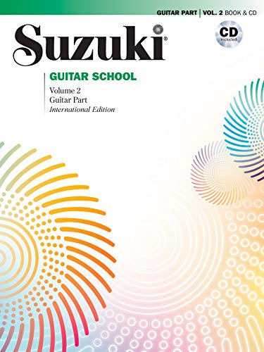 Suzuki Guitar School - Guitar Part & CD, Volume 2 (Revised): Guitar Part, Book & CD