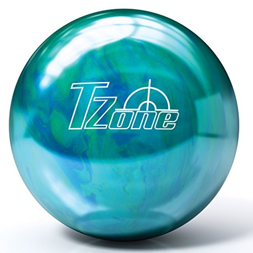 in budget affordable Pre-drilled bowling ball in Brunswick T-Zone – Caribbean Blue (11 lbs)