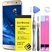 Upgraded Galaxy S7 Edge Battery Replacement Kit, 4000mAh High-capacity Replacement Battery EB-BG935ABE for Samsung Galaxy S7 Edge SM-G935F with Tool Kit (Not for Samsung Galaxy S7)