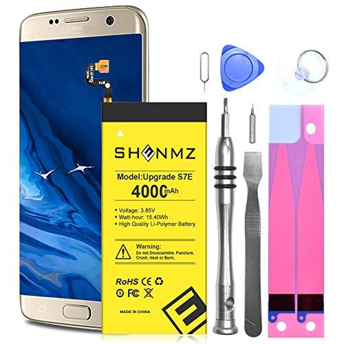 Batería para Galaxy S7 Edge Shenmz Li-Polymer 4000 mAh interna S7 Edge mejorada EB-BG935ABE para Samsung Galaxy S7 Edge G935V G935A G935T G935F G935P con kits de repuesto