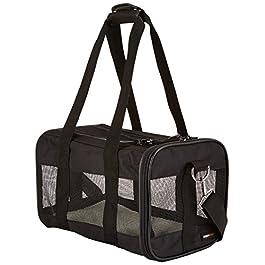 AmazonBasics Pet carrier bag, soft side panels