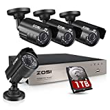 Best Outdoor Security Cameras - ZOSI 1080P Security Camera System with 1TB Hard Review