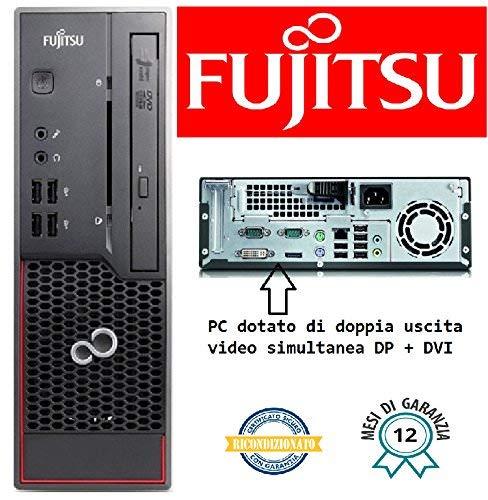 PC FUJITSU C700 Intel Core I3-2100 3.10GHZ/4GB/250GB/DVD+RW/Win 10 Pro