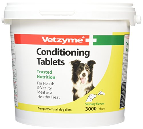 Vetzyme Dog Conditioning 3000 Tablets