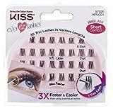 Kiss Products Ever Ez Trio Lashes Short, 0.03 Pound