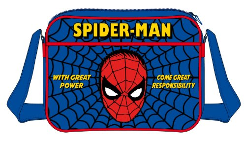Spiderman - Bolso bandolera  Azul azul