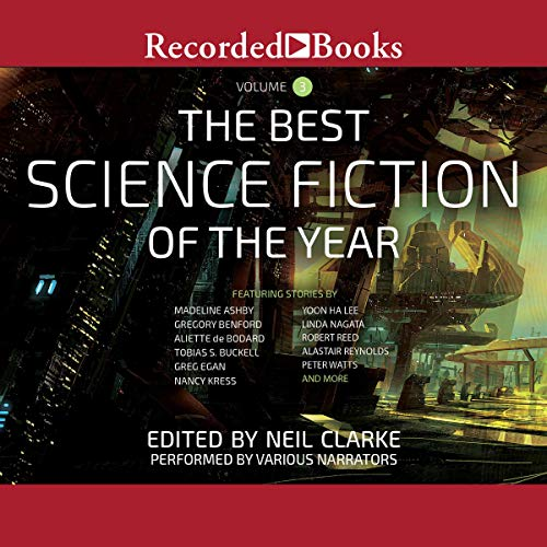 The Best Science Fiction of the Year, Volume 3  By  cover art