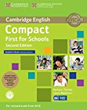 Compact First for Schools Student's Pack (Student's Book without Answers with CD-ROM, Workbook without Answers with Audio) Second Edition