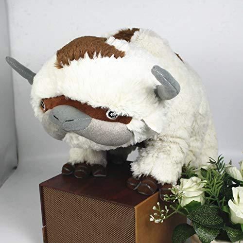 xuritaotao 50 cm Die Letzte Airbender Ressource Appa Avatar Kuscheltiere Plüsch Puppe Kuh Spielzeug Geschenk Kawaii Plüschtiere Einhorn Kissen Spielzeug