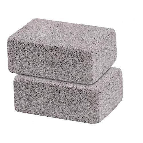 Limpieza de la Parrilla de Ladrillos de Piedra pómez Plancha Barbacoa Rack...