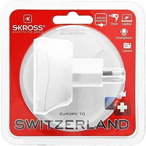 Skross 1 500205 Reiseadapter Für Reisen Aus Europa In Computer Zubehör
