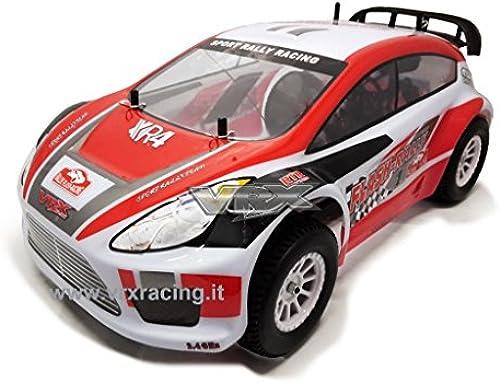 Stra -Rally 1 10 -Road Rally Elektro 4  mechanische vollst ige VRX Karosserie rot