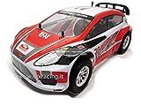 VRX Stradale Flash Rally 1/10 on-Road Rally Elettrico 4WD Meccanica Completa carrozzeria Rossa