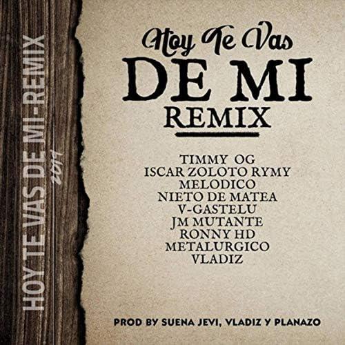 Iscar Zoloto Rymy, Timmy Og, Melodico, Nieto de Matea, V-Gastelu, Jm Mutante, Ronny HD, Metalurgico & Vladiz